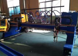 管板一体机圆管切割机钢板材等离子切割机两用数控切割机
