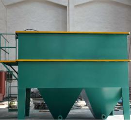 水洗砂污水设备厂家 洗砂污水处理设备 沉淀池处理包达标