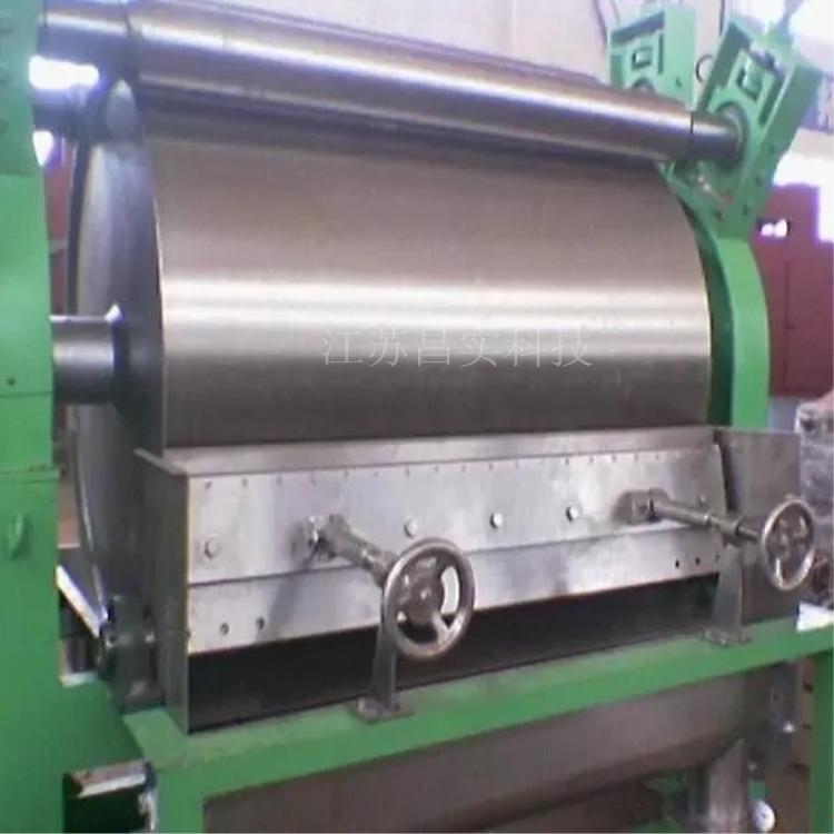 粘性膏状物料滚筒刮板干燥机 导热油加热型