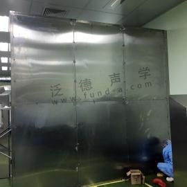 为某工厂定制隔声罩 工业生产线噪声治理