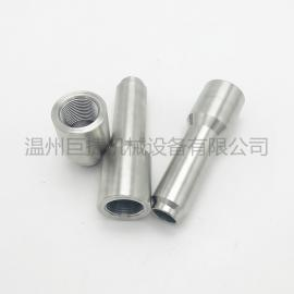 �毫ψ�送器底座焊接�^304不�P�焊接�p金��囟扔��x表接�^M27*2