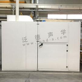 隔声房生产建筑 洁福地基破坏机隔声房工 隔声 吸声