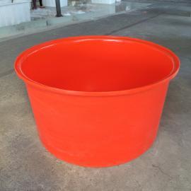 厂家直销500L食品级敞口存物圆桶竹笋腌制桶塑料圆桶带盖