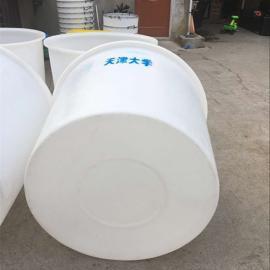 厂家定制泡菜发酵酿造大白桶600L食品级塑料大圆桶滚塑圆桶