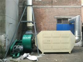 家具厂喷涂废气处理 异味气体吸附装置 PP活性炭吸附塔