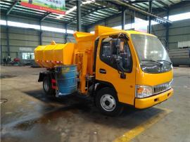 3吨5吨污泥运输车-滴水不漏清运含水污泥垃圾专用车