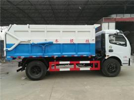 8吨污泥运输车_污水厂全密闭运输含水污泥专用车