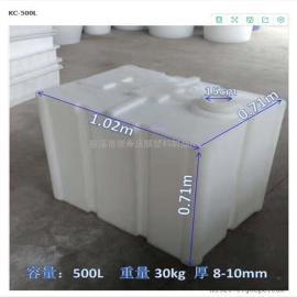 方形加药箱 带搅拌机加药桶 500L加药箱 加药箱 计量箱