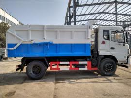 对接供排水公司处理污泥-口8吨污泥运输车_8吨污泥清运车