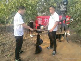 汽油式小型挖坑机优质又耐用