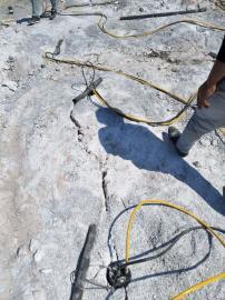 地基开挖静态劈裂机