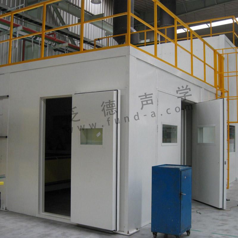 噪声治理 圣戈班大型钢化生产线噪声治理工程