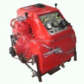 日本东发VC52AS手抬机动消防泵,东发手抬泵
