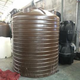 厂家供应10吨塑料储罐食品级pe水塔环水处理工程专用高位水箱