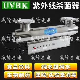 UVBK生活饮用水处UV紫外线杀菌消毒器 来图定制