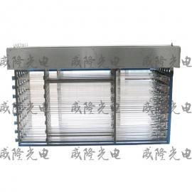 框架式明渠式紫外线消毒模块系统 不锈钢排架模块