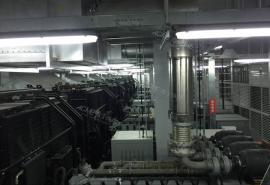 1000KW/1500KW备用发电机组烟气净化设备 柴油发电机尾气净化