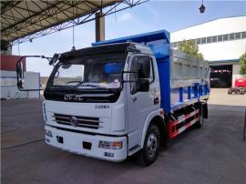 全密闭清运含水污泥_6吨8吨污泥运输车参数图片