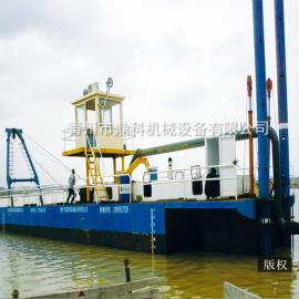 出口国外绞吸式采矿设备 全液压台车式绞吸挖泥船厂家定制 清淤