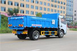 垃圾转运车厂家地址_东风车厢可卸式垃圾车