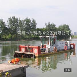 小型耙吸式河道清淤挖泥船 鼎科耙吸船厂家报价 螺旋绞刀挖泥船