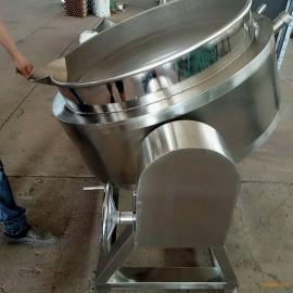诸城宏阳厂家直销不锈钢电加热夹层锅 蒸煮搅拌锅