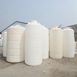 8吨环保塑料圆形运输水箱加厚水产品养殖水塔PE胶储罐可定制