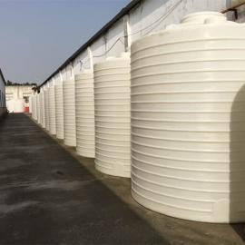 10立方pe塑料水箱塑料��罐防腐�g塑料桶�化水箱�S家直�N