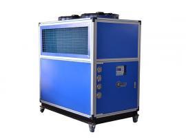 冰水循环反应釜夹套降温/风冷式冷水机/工业冻水机