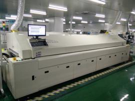IGBT模块专用无铅回流焊, 捷豹十温区散热器回流焊