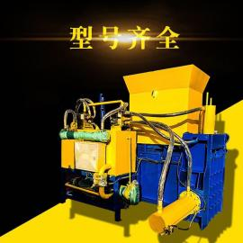 麦皮锯末稻壳套袋压块机三缸液压打包机