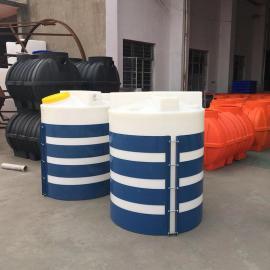 厂家直销1吨PAM溶药桶带电机搅拌罐工业搅拌容器混凝土搅拌机