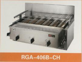 日本RINNAI林内底火六管烧烤炉RGA-406B天?#40644;?#28903;烤炉