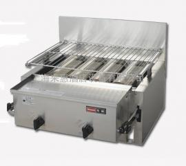日本林内天燃气底火烧烤炉(天然气)RGA-406B 6管燃气底火烧烤炉