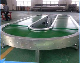 360度输送机环形皮带输送机流水线不锈钢传送带非标定制