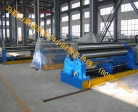小型卷板机�xW11-12×2000三辊卷板机