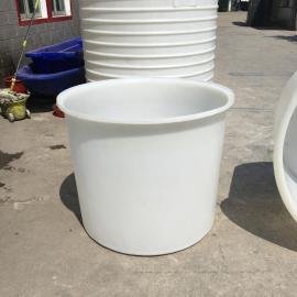 500Lpe圆桶塑料包装桶食品级塑料大圆桶漂染桶厂家定制