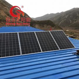 程浩太阳能发电机 1000w太阳能离网发电系统