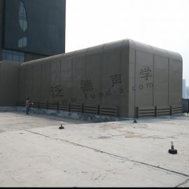 冷却塔、机房噪声治理 艾美酒店冷却塔和机房综合降噪工程