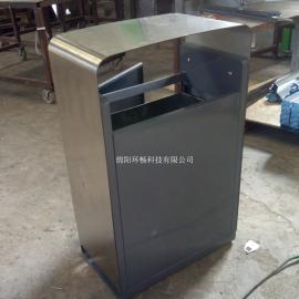 单筒方形不锈钢烟灰桶 垃圾桶 果皮箱批发商家 各地均可发货