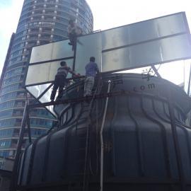 冷却塔噪声治理 长宁仲盛大厦冷却塔噪声治理工程