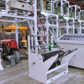 国际畅销降解膜吹膜机 可降解膜高低压吹膜机 PE降解膜吹膜机
