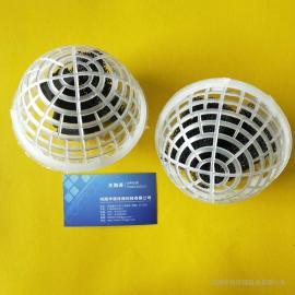 悬浮球填料弹性填料聚氨酯海绵填料污水处理