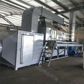 喷漆房 印刷厂专用催化燃烧设备废气治理光氧处理设备有机废气