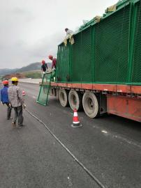 高速公路防眩网 钢板网护栏厂家批发定制防抛网
