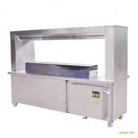 远飞3.5米双组净化器无烟烧烤车厂销售