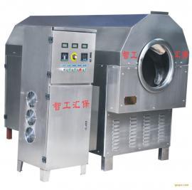 供应环保低耗干果炒货机---智工汇保中型电磁炒货机