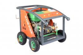 户外除锈除漆机275KG汽油驱动高压清洗机喷养殖场墙面广告