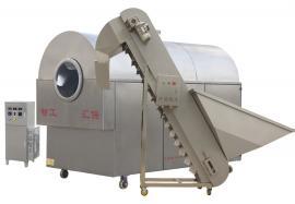 供应环保低耗花生果炒货机---智工汇保电磁花生果干炒机