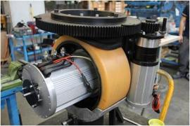 4000W行走电机双舵轮牵引20T方案 多个成功案例 MRT36 意大利CFR